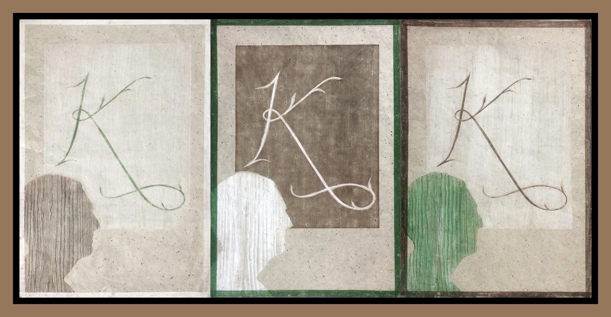 Obra Antonio Martorell para expo Casa Klumb - Variaciones en K Mayor 2014