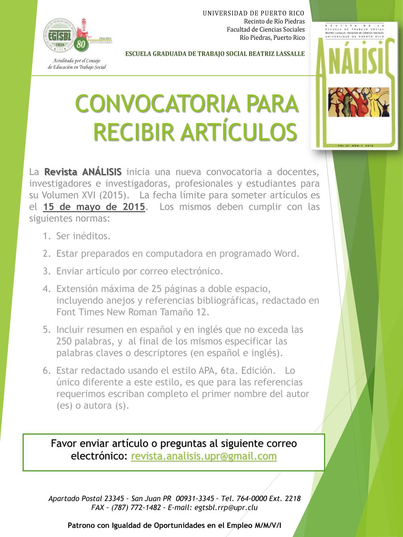 convocatoria-Artu00CDculos-Revista-ANu00C1LISIS-2015