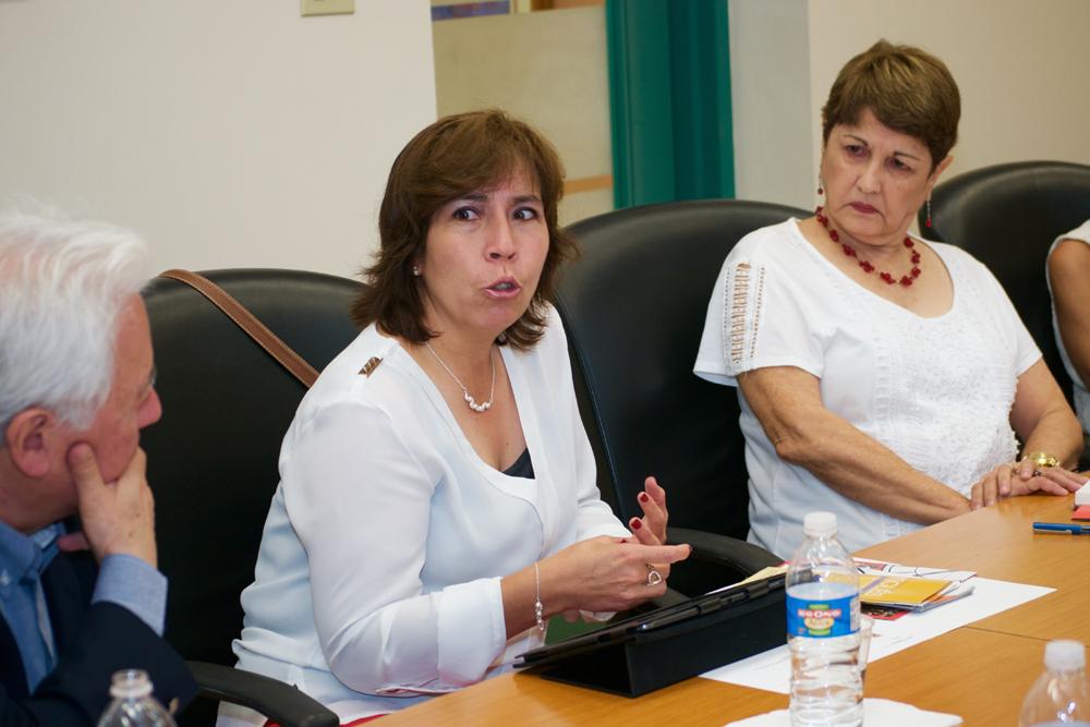 Lcda. Mireya Cabrera, Ministrada de Educación de Ecuador