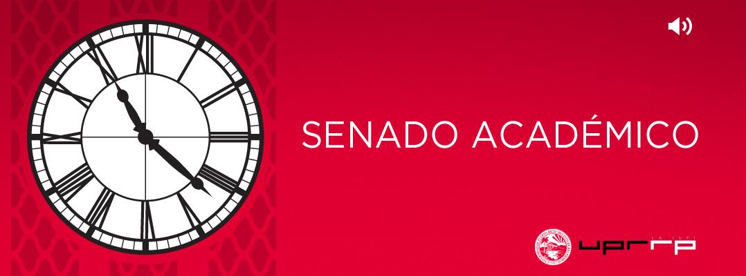 Transmisión de audio reunión Senado Académico