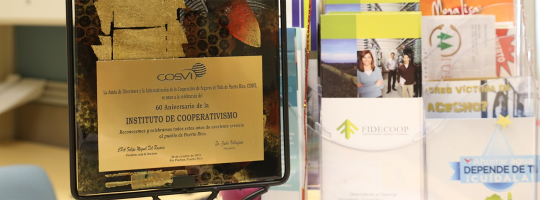 placa 60 aniversario instutuo de cooperativismo