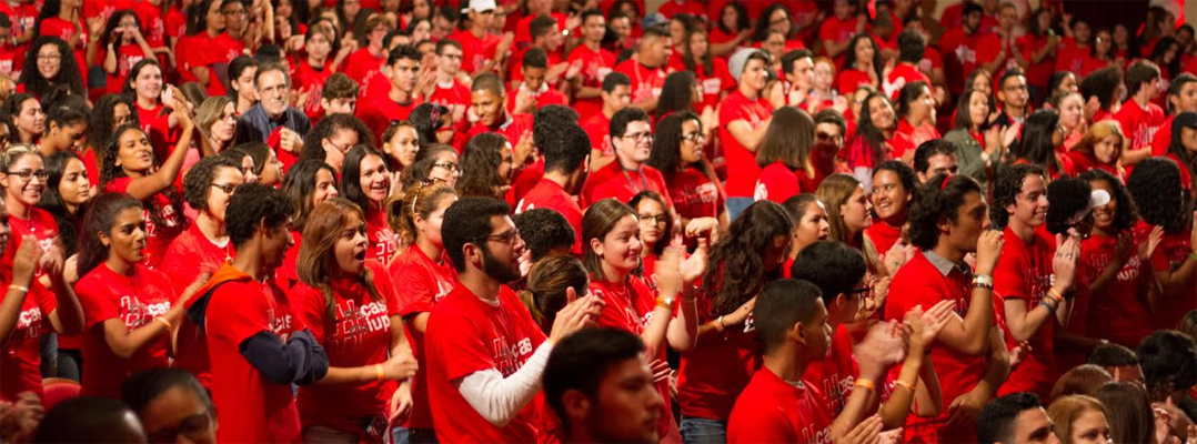 Gran recibimiento a los estudiantes de nuevo ingreso