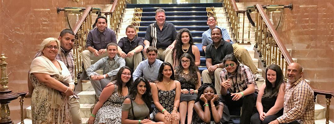 INIM facilitó un intercambio con estudiantes pertenecientes a familias latinas en Estados Unidos
