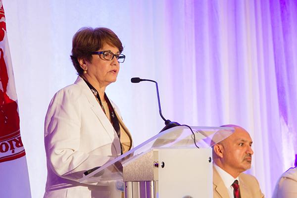 Dra. María de los Angeles Castro, Rectora Interina UPR-RP