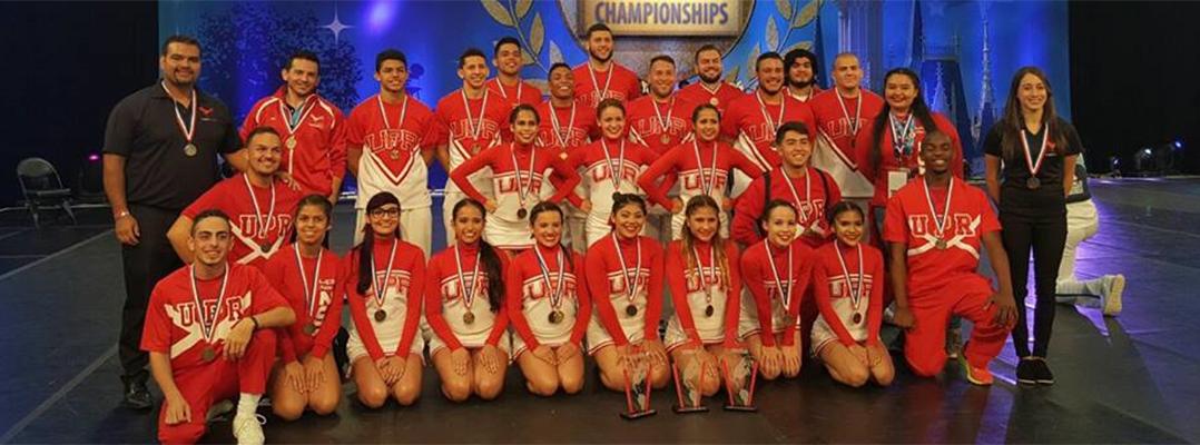 Brilla la UPRRP en importante competencia de porrismo y baile