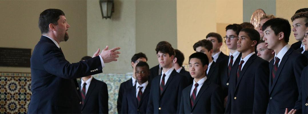 Coro de Roxbury Latin School, MA visita la Facultad de Humanidades de la Universidad de Puerto Rico Recinto de Río Piedras