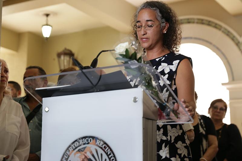 Dra. Agnes M. Bosch, Decana Interina de la Facultad de Humanidades del Recinto de Río Piedras