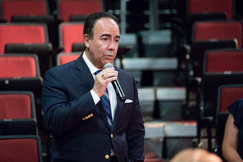 Luis Ferrao, Rector Interino UPR-RP