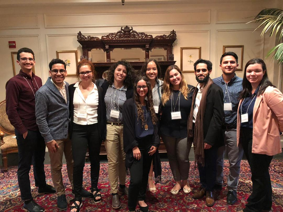 Estudiantes de la IUPI participan en conferencia en Duke University