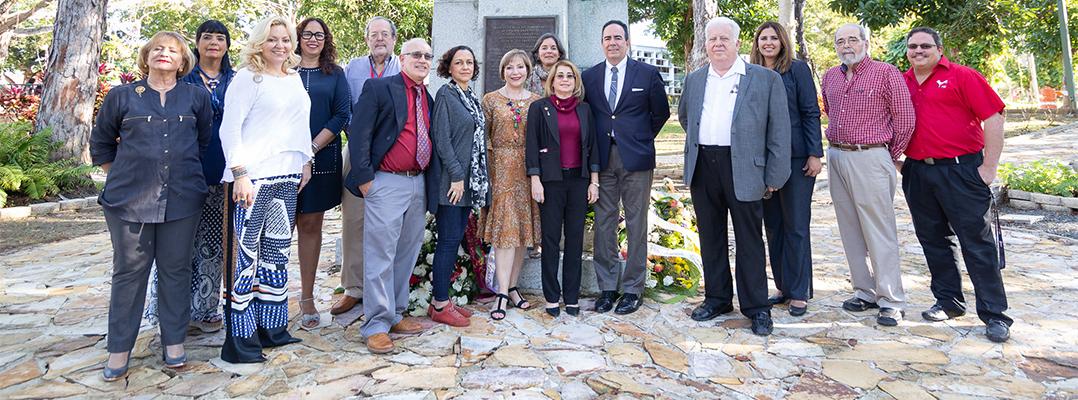 Inician clases en la UPR de Río Piedras con la conmemoración del natalicio de Eugenio María de Hostos