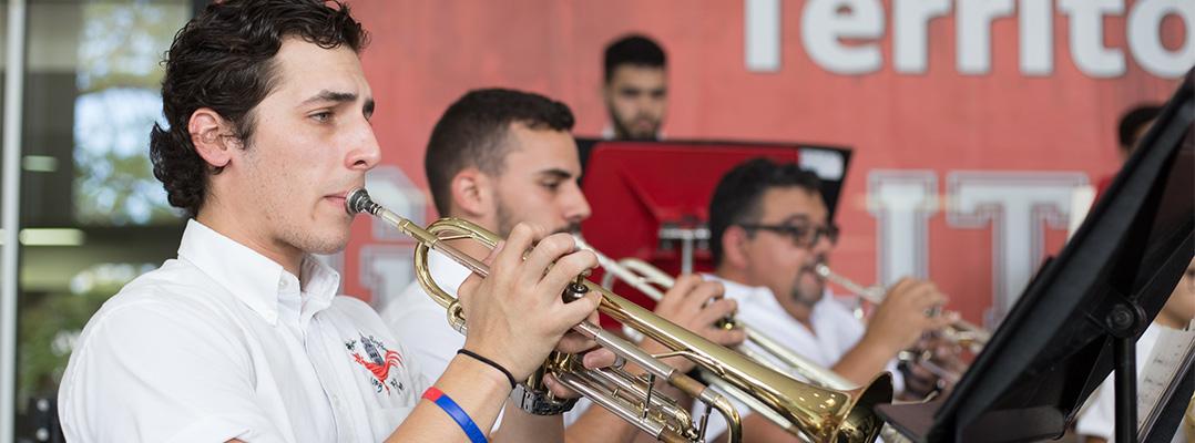estudiante banda
