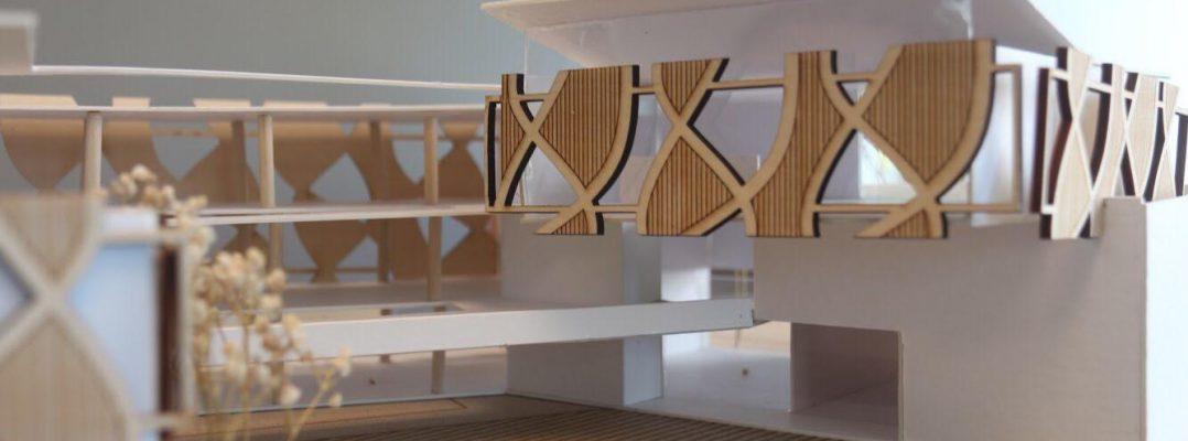 Estudiantes de Arquitectura realizaron propuesta de edificio para COPU y EGCTI