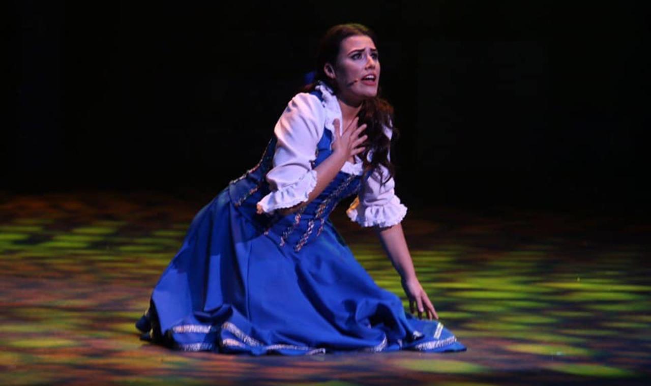 Amanda Rivera Torres como Belle de la Bella y la Bestia