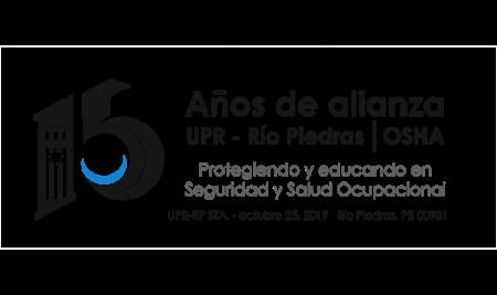 Conmemoran los 15 años de la alianza entre la UPR-Río Piedras y OSHA con cancelación pictórica de una estampa
