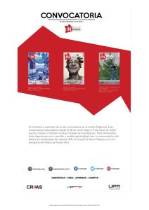 6ta Convocatoria de Investigación y Actividad Creativa Revista Ingenios Vol. 6 Num. 2