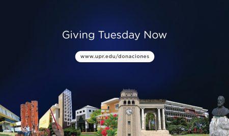 "Universidad de Puerto Rico se une a iniciativa de filantropía internacional ""Giving Thuesday Now"""