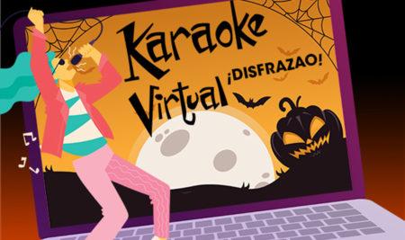 La Iupi celebra Karaoke Virtual Disfrazao'