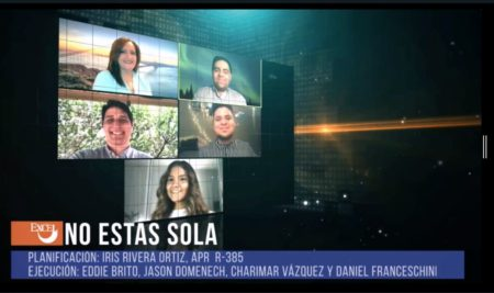 "Campaña ""No estás sola"" creada por estudiante de COPU gana premio"