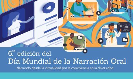 Celebran en el Recinto sexta edición del Día Mundial de la Narración Oral 2021