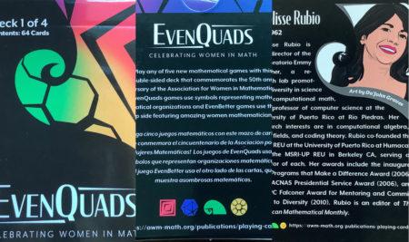 Profesora de Matemáticas integra el proyecto EvenQuads que celebra las aportaciones de mujeres