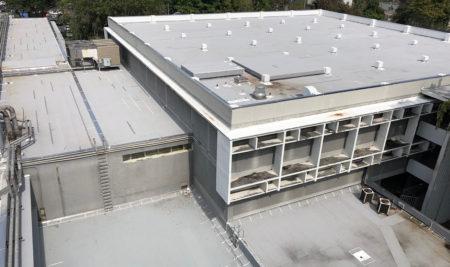 Culmina proyecto de impermeabilización del techo de la Biblioteca José M. Lázaro del Recinto de Río Piedras de la Universidad de Puerto Rico