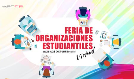 La IUPI celebra la Feria Virtual de Organizaciones Estudiantiles